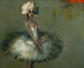 BALLERINA III by Halina Tymusz