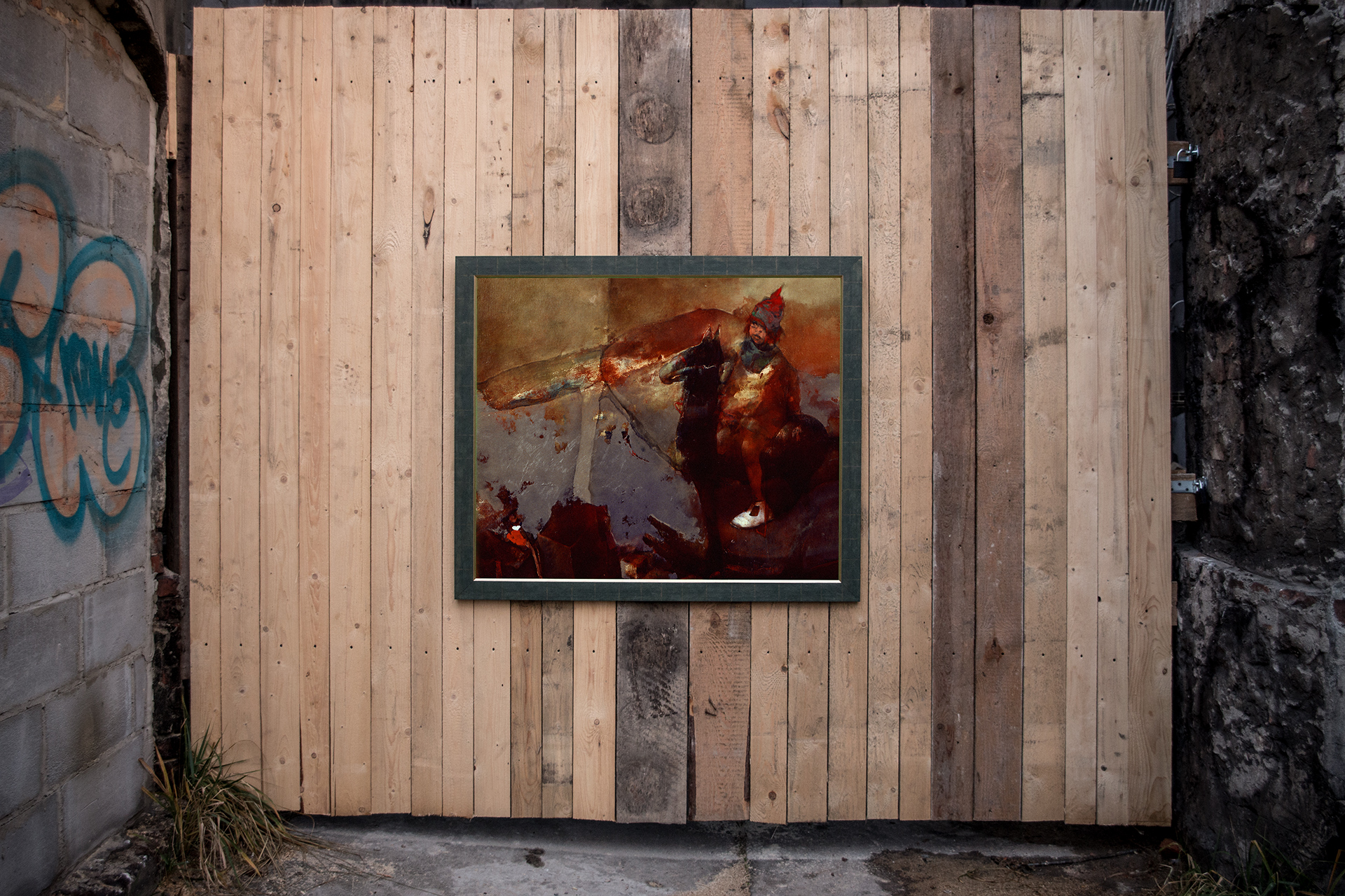 ROCKING HORSE by Halina Tymusz
